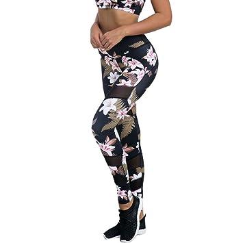 Mallas Deporte Mujer Leggins Polainas de Fitness Pantalones Deportivos de Yoga Correr de Pilates Gimnasia Mujeres Leggings Deporte Mujer Sexy