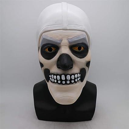 Juego Divertido Adulto Cráneo Soldado Piel Látex Máscara ...