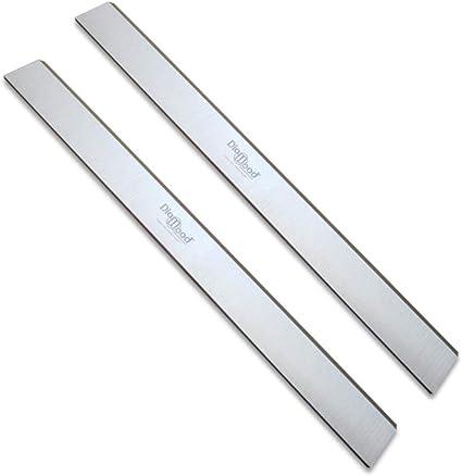 DIAMWOOD EXPERT EN EQUIPEMENT les 2 fers Jeu de 2 fers de d/égauchisseuse//raboteuse 500 x 30 x 3 mm acier HSS