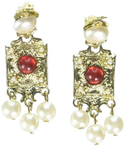 Forum Novelties 63121 20's Pearl Earrings]()