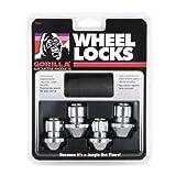 Gorilla Automotive 96641DX Chrome Factory Style Wheel Lock Set (14mm x 1.50 Thread Size, 4-Pack)