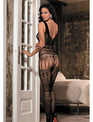 donna one Jacquard Indumenti Da HJL black da Sexy Sensuale black size notte g5qzqwZ