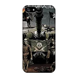Great Hard Cell-phone Case For Iphone 5/5s (bjy13786JANk) Custom High Resolution Iron Maiden Image