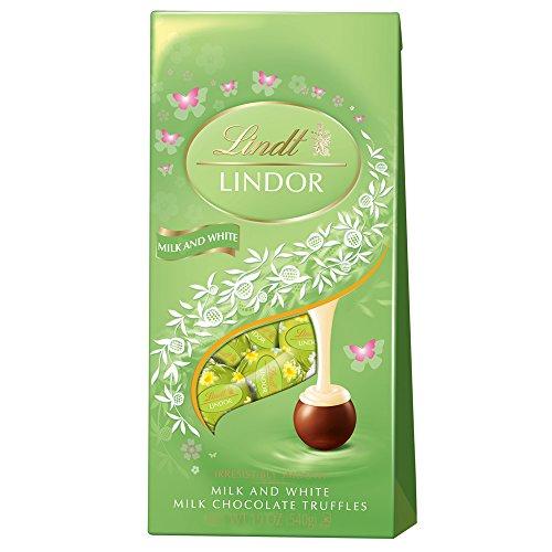 Lindt Lindor Truffles Milk Chocolate Easter Springtime Gift Bag