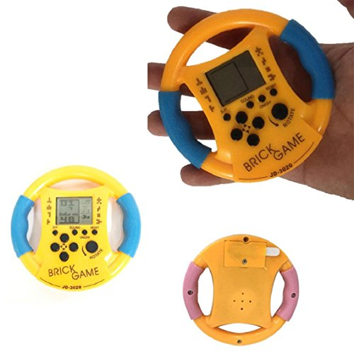 Price comparison product image Naladoo 48 In 1 Handheld Game Console Virtual Nostalgic Steering Wheel modeling Toy Tiny Games Recreational Machines Hot Sale Electronic Xbox Birthday Gift