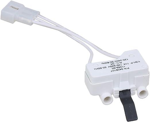 rdexp plástico wp3406107 lavadora interruptor de la puerta para ...