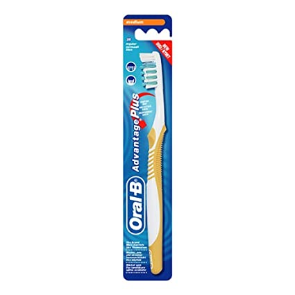 Oral-B Advantage Plus 35 Medium Adulto Aliento fresco cepillo de dientes manual