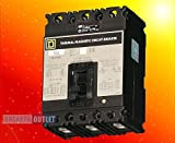 Refurbished Square D FAL34090 Circuit Breaker FAL 3 Pole 90A 480V 18kA