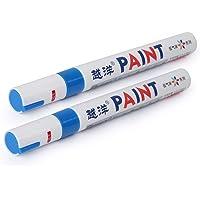 GZYF Bandenverf Marker, Waterdichte Permanente Band Pen - Highlghters Fluorescentie Kleur Universeel Past voor Auto Type…
