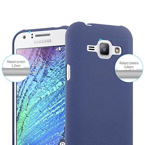 Cadorabo - Cubierta protectora para Samsung Galaxy J1 (5) - Modelo 2015 de silicona TPU en diseño Escarcha
