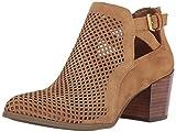 AK Anne Klein Sport Women's Gabs Suede Ankle Boot, Medium Natural Suede, 6.5