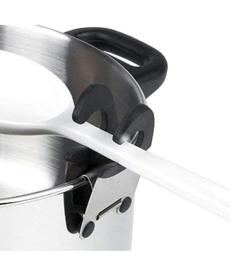 Amazon.com: Soporte para cuchara de acero inoxidable para ...