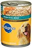 Pedigree Traditional Ground Dinner Chicken and Rice Dinner, Food for Dogs, 13.2-Ounce Cans (Pack of 24), My Pet Supplies