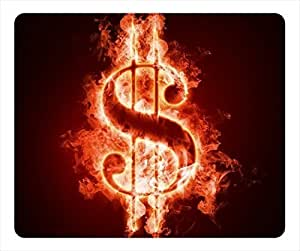 Fire dollars Masterpiece Limited Design Oblong Mouse Pad by Cases & Mousepads