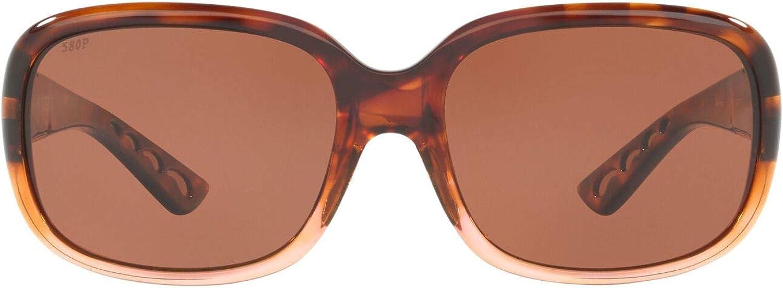 Costa Del Mar Women's Gannet Rectangular Sunglasses
