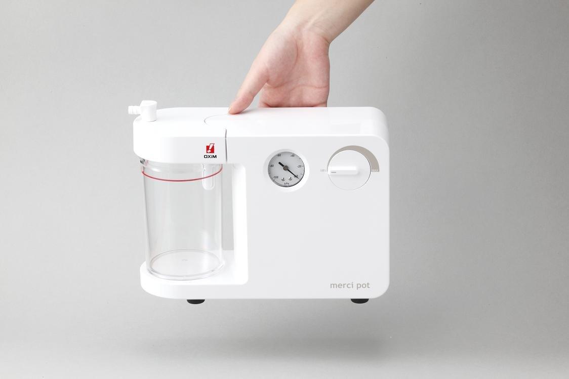 鼻水吸引器 メルシーポット 大小シリコンオリーブ管付 B007QZ0MEG