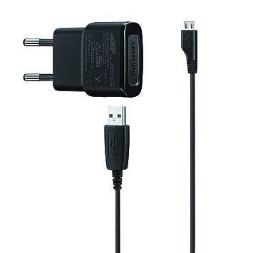 Samsung ETA0U80E - Cargador de móvil de red para Micro USB- Versión Extranjera