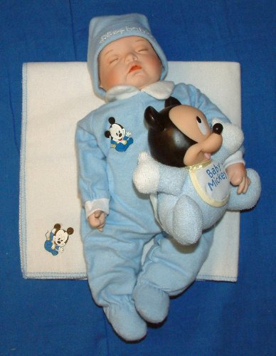 Ashton Drake Porcelain Doll -Baby Mickey