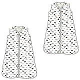 Hudson Baby Wearable Safe Muslin Sleeping Bag, Gentleman Pack, 12-18 Months