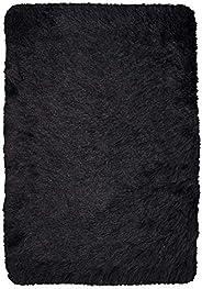 DiB ABG120 Tapete Decorativo Bengali, Color Negro, 120 x 170 cm