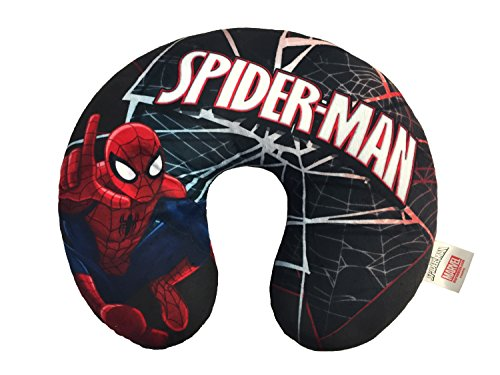 Marvel Spiderman Web Travel Neck Pillow (Childrens Travel Neck Pillow)