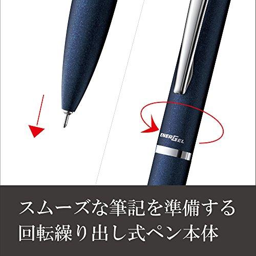 Penel Gel Ball Pen Energel Filography 0.5 BLN 2005 C Dark Blue by Penetrate (Image #2)