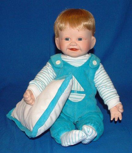 - Ashton Drake Porcelain Doll -Christopher's First Smile