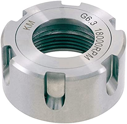 KM Bearing Type ER32 18000 RPM Pro Series by HHIP 3900-0696 Collet Chuck Nut