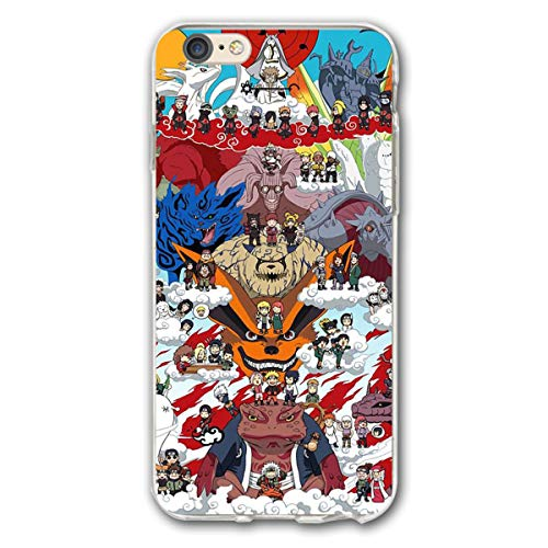 SWDFFG iPhone 6 Plus iPhone 6s Plus Case- Stylish Naruto Family PC Slim Shockproof Flexible Back Protective Case for iPhone 6/6s -