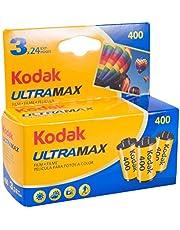 Kodak UltraMax 400 Color Negative Film (35mm Roll Film, 24 Exposures, 3-Pack) - 6034052