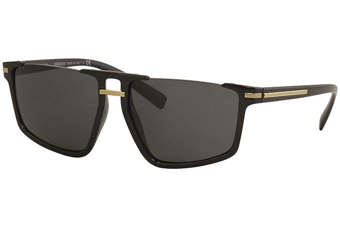 Amazon.com: Versace VE4363 - Camiseta para hombre, Negro ...