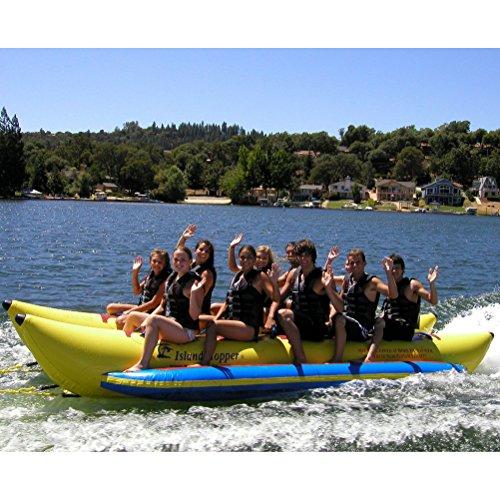- Island Hopper PVC10SBS 10 - Passenger Side By Side Heavy Commercial Dual Directional Banana Boat