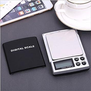 Zhrui Báscula de Bolsillo de precisión Báscula de Bolsillo electrónica Digital con balanza de precisión 0.01g: Amazon.es: Hogar