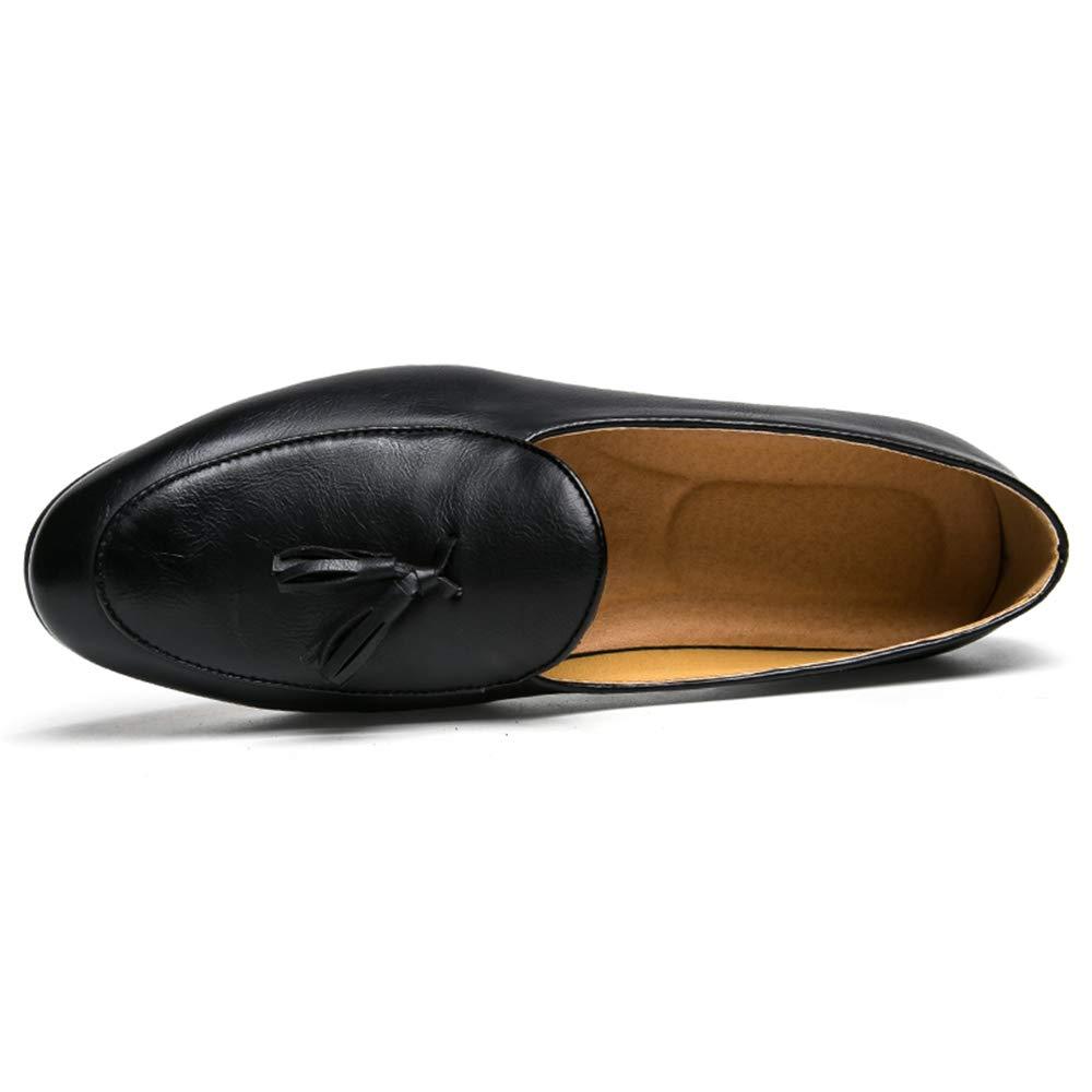 Xiazhi-shoes,, - Mocasines para Hombre Negro Negro 37 EU: Amazon.es: Hogar