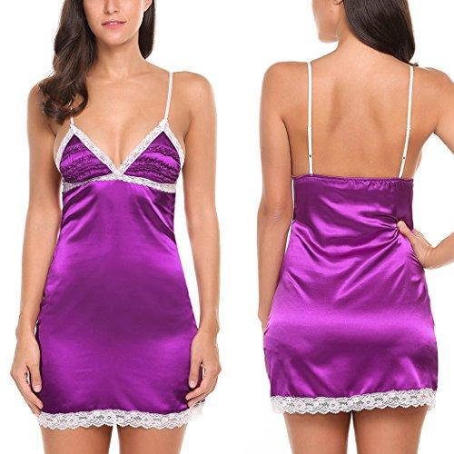 Avidlove Nightgown Pajama Strappy Sleepwear product image