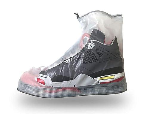 d7c786ac6a266 Dry Steppers Waterproof Shoe Cover Sneaker Boot Dirt Rain Reusable Non Slip  Sole