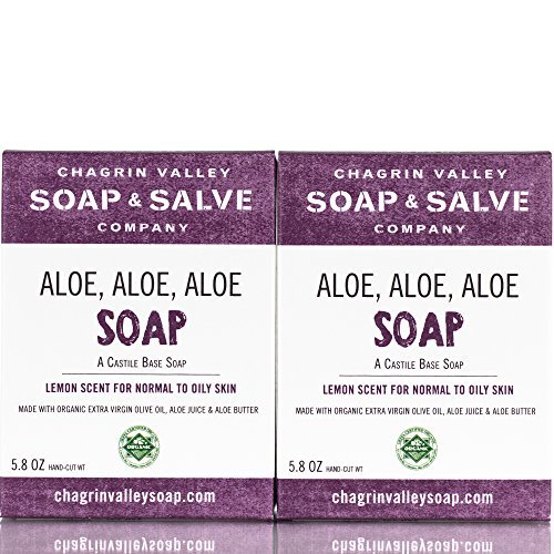 Organic Natural Shampoo & Soap Bar, Neem & Tee Trea 2X Pack