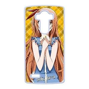 LG caja del teléfono celular G4 funda blanca nisekoi N2S1NF