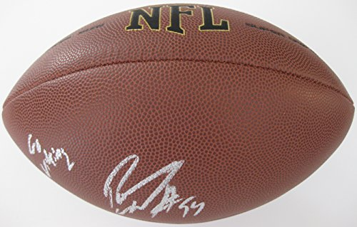 Pat Williams, Minnesota Vikings, Texas A&M, Signed, Autographed, NFL Football, a COA with the Proof Photo of Pat Signing Will Be -