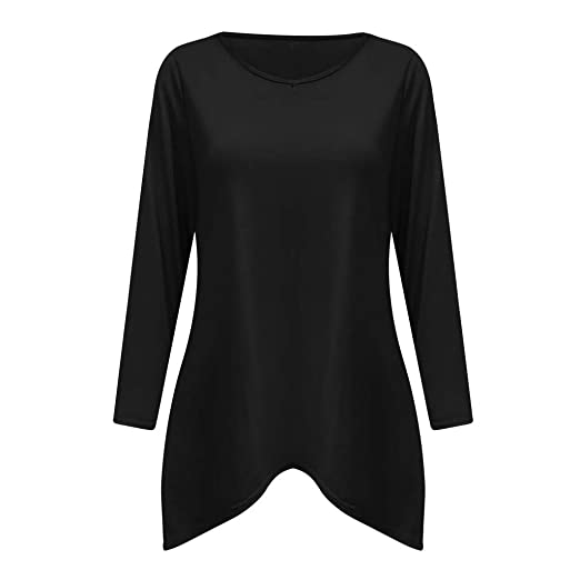 42cd8b732a02 TWGONE Tunic Dresses for Women to Wear with Leggings Plus Size Long Sleeve V  Neck Solid