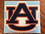 Auburn Tigers, Orange / Blue AU Large Vinyl Decal, Cornhole