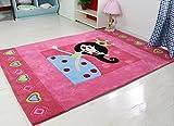 Cartoon Pink Kids Room Princess Room Carpet Floor Bedroom Carpet ( Size : 160X230CM )