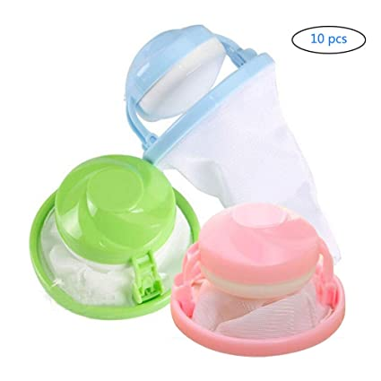 Amazon.com: NANA 10 piezas reutilizable lavadora flotante de ...