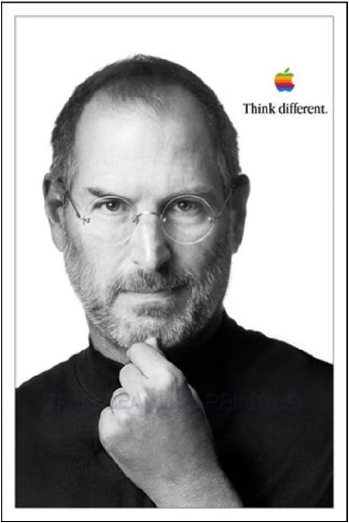 "Steve Jobs Poster,""Think Different"" Premium Poster Gloss 10 Prints"