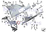 BMW Genuine Motorcycle Air Ducting Radiator Engine Spoiler Radiator Air Duct HP4 S1000RR