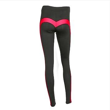 Ytdzsw Mujeres Deportes Leggings Yoga Pants Amor En Forma De ...