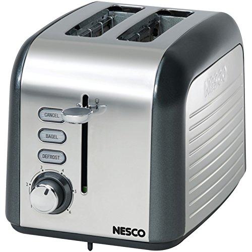 NESCO T1000-13 Two Slice Toaster Wide Slot,