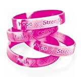 Lot Of 48 Pink Ribbon Camo ~ Breast Cancer Awareness Bracelets