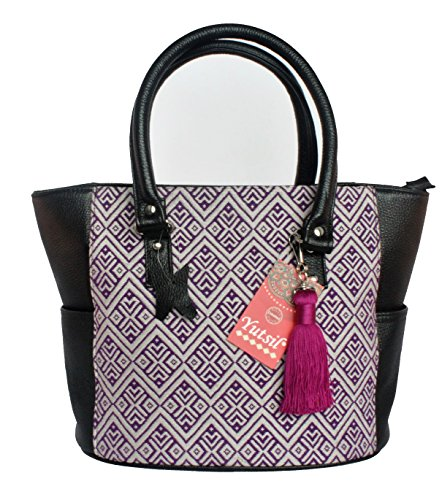 Artyzanz Bags - Bag Black Fur Fabric For Black Women