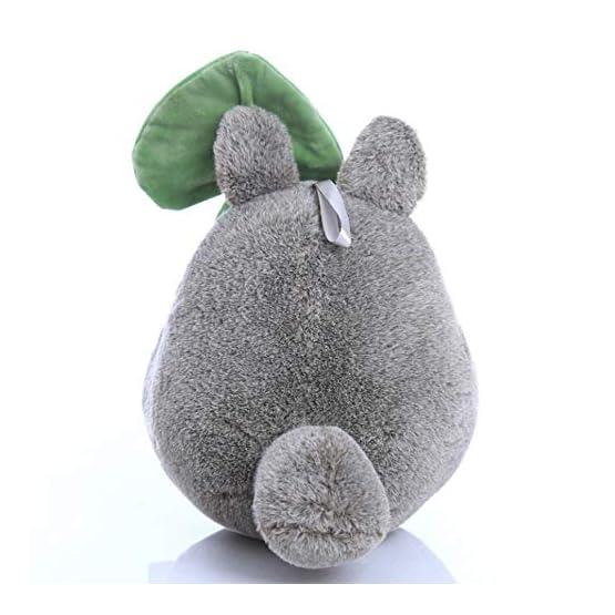 Totoro Plush - Leaf Hat - 7.8 Inches   My Neighbor Totoro   Studio Ghibli Plush 3